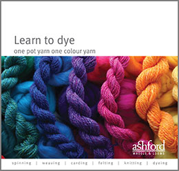 Learn to dye one pot one colour yarn
