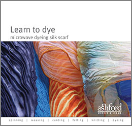 Learn to dye microwave dyeing silk