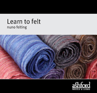 Learn to felt nuno felting cover