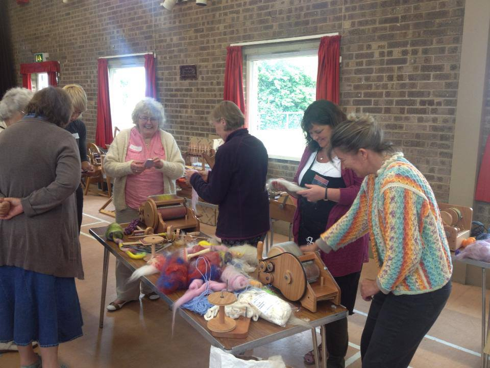 ashford handicrafts - Open day at the UK Spinning School