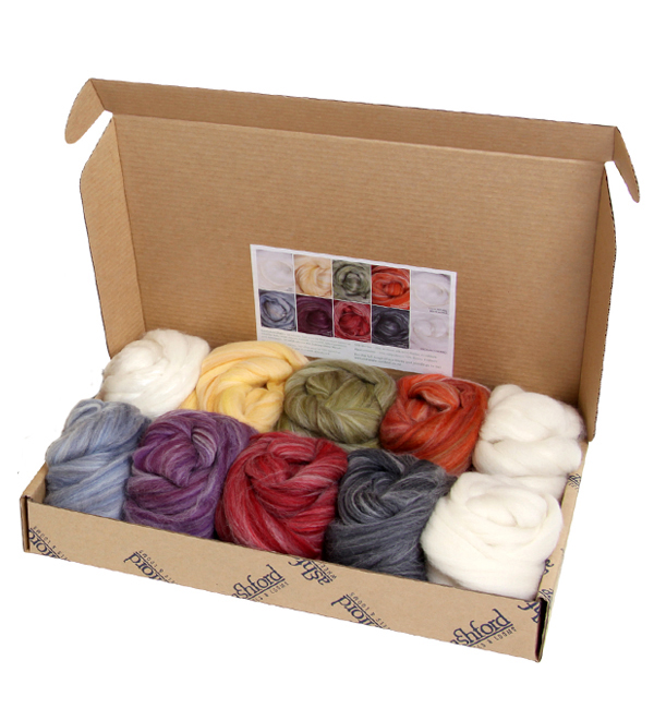 Ashford Handicrafts Alpaca Merino Sample Pack