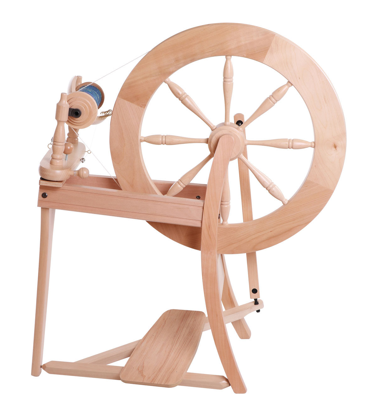 Spinning Wheel Drive Band Double Drive Waxed Cotton RED