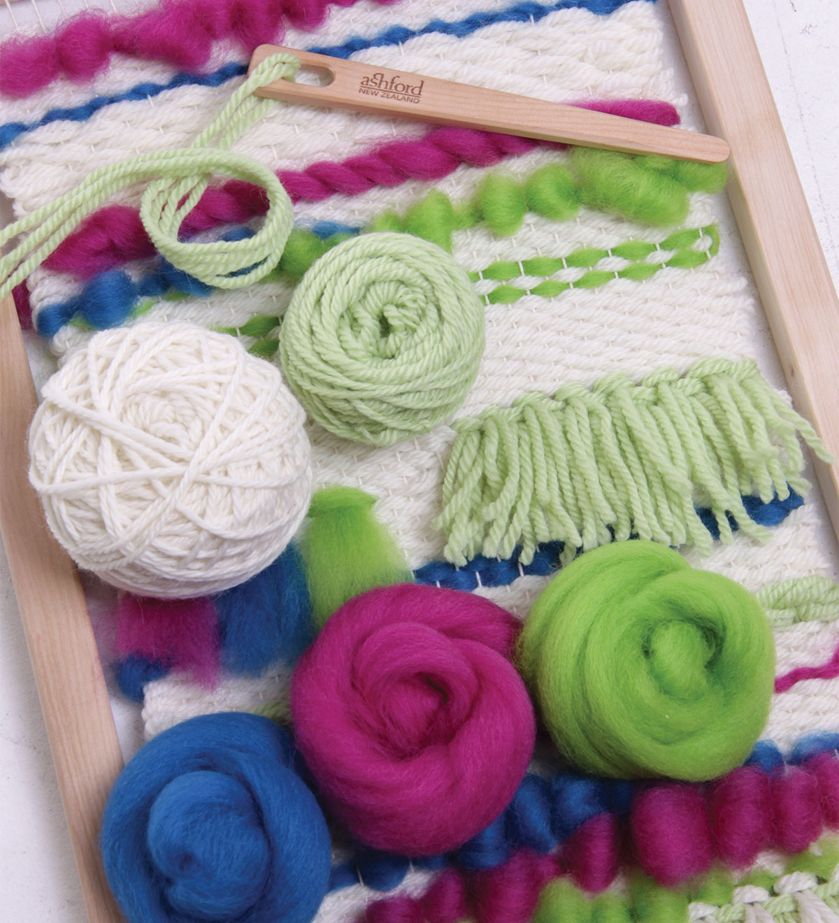 7b32a293f0 Start your creative weaving journey here! Fun and so easy to do. This kit  contains everything ...
