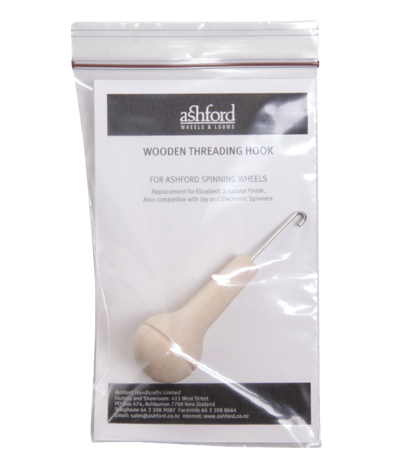 Ashford Handicrafts Wooden Threading Hook